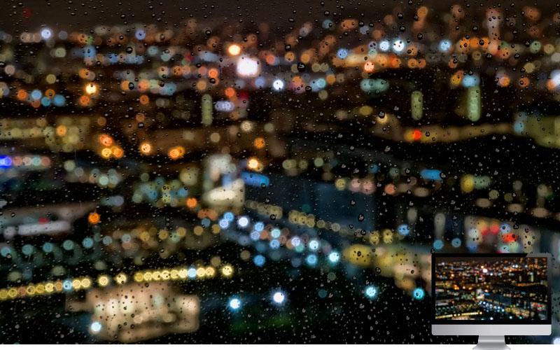 #16. Rain in Night