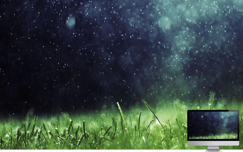 #8. Wallpaper Musim Hujan