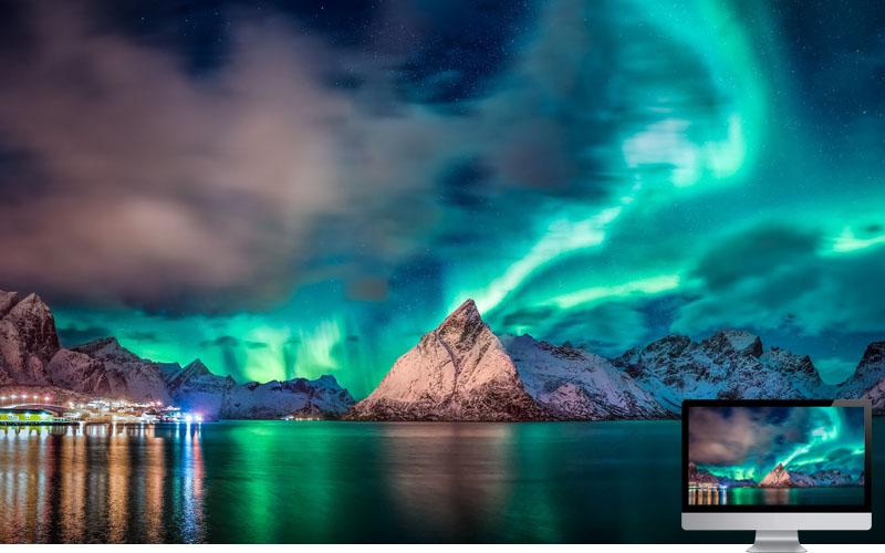 10. Aurora in Light