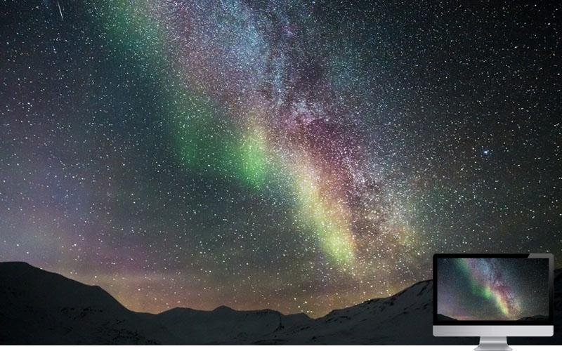 11. Aurora with Stars