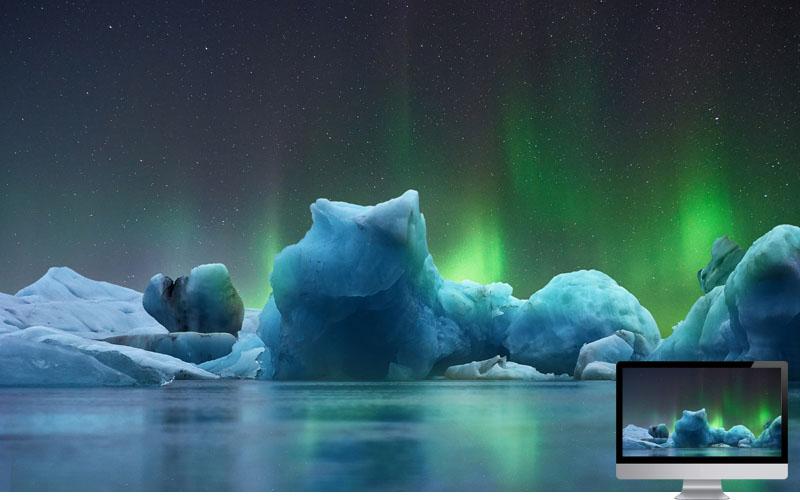 12. Aurora in Winter