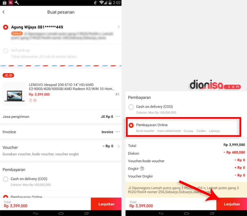 10 Cara Belanja Di Jd Id Dari Web App Bayar Via Alfamart