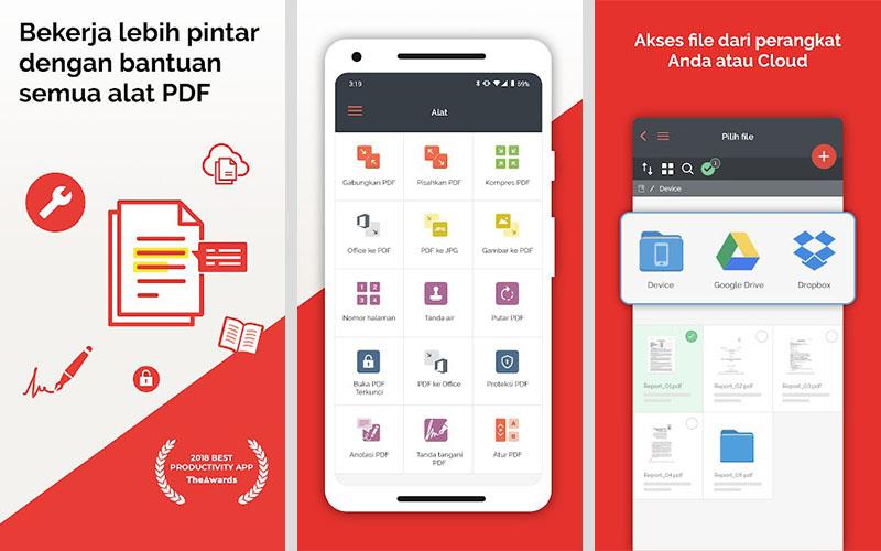 Aplikasi iLovePDF