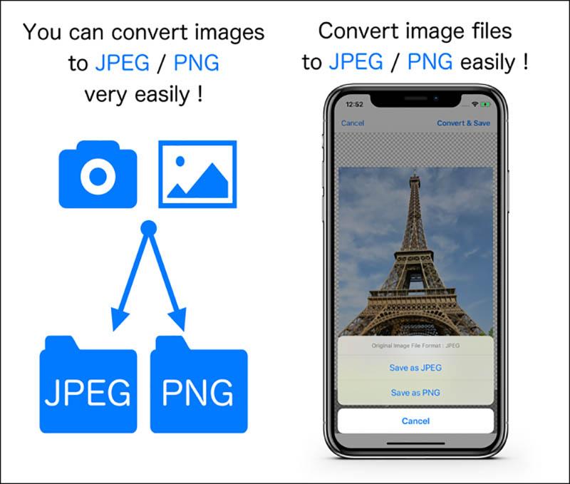 Convert Foto PNG ke JPG iPhone