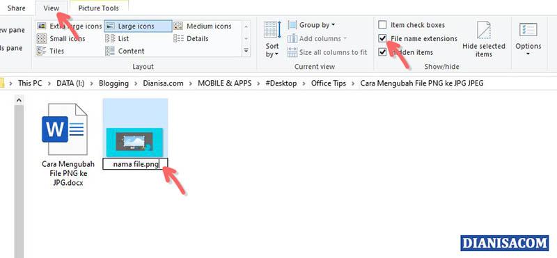 7 Cara Mengubah File Png Ke Jpg Di Laptop Android Iphone