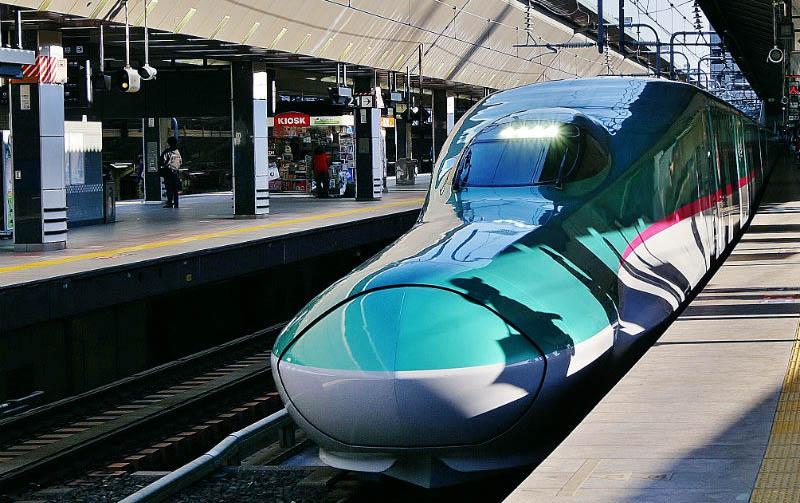Transportasi Kereta Cepat Jepang