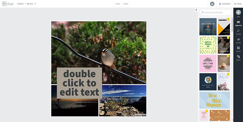 Adobe Spark Slideshow Creator