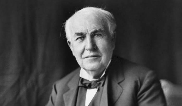 Kata Bijak Inspiratif Thomas Alva Edison