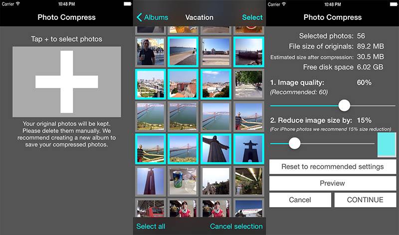 Photo Compress iOS