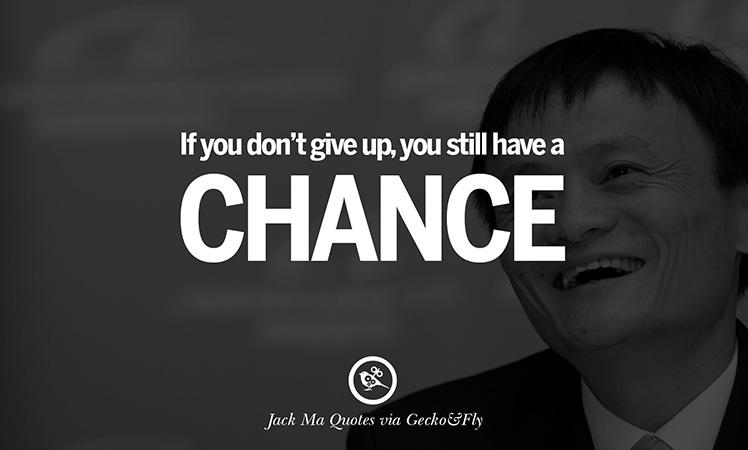 Kata Kata Sukses Jack Ma