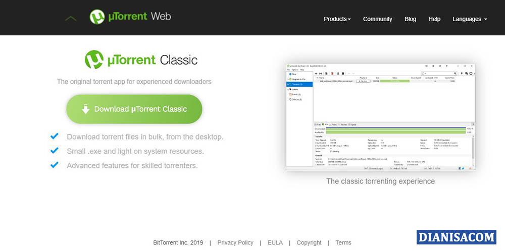 1 Situs Utorrent