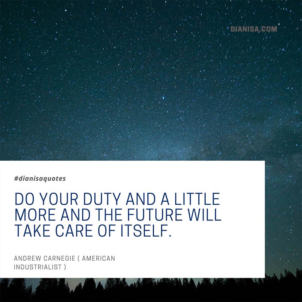 Kata Kata Bijak Andrew Carnegie