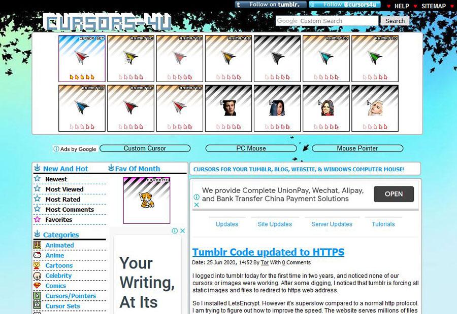 cursors-4u.com