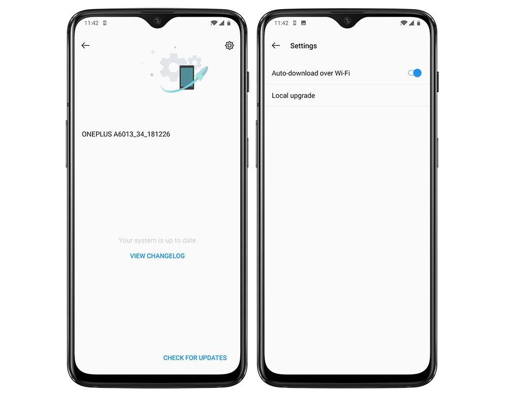 Update OS OnePlus secara Manual