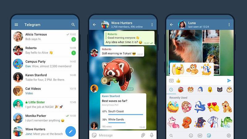 Fungsi Utama Aplikasi Telegram