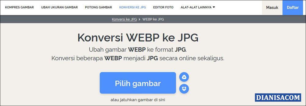 3 Konversi WebP ke JPG iLoveIMG