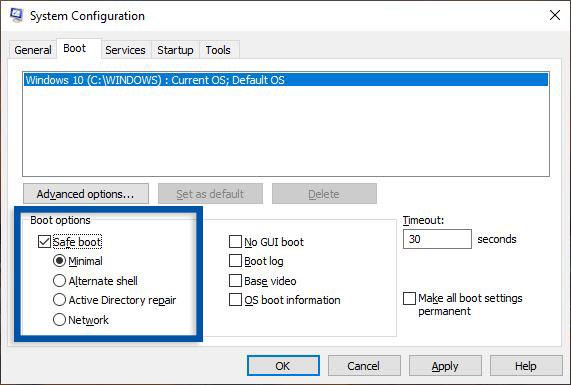 Aktifkan Safe Mode Windows