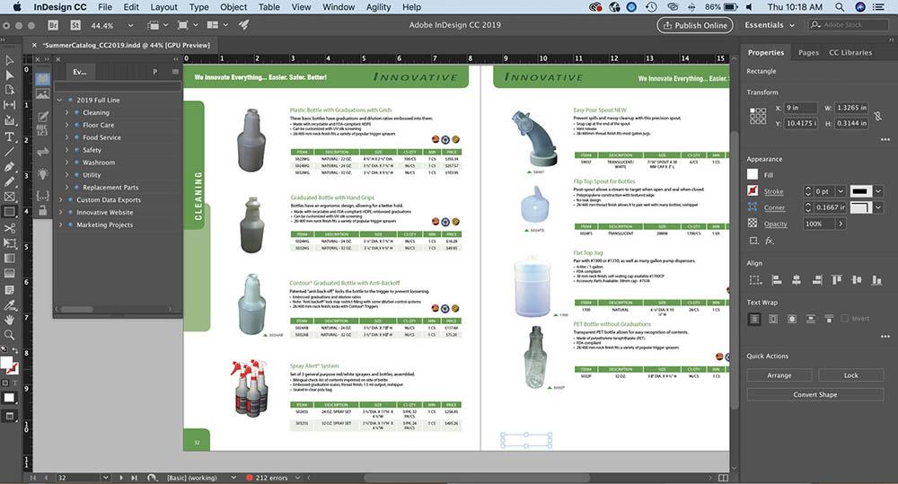 Fitur dan Fungsi Adobe InDesign