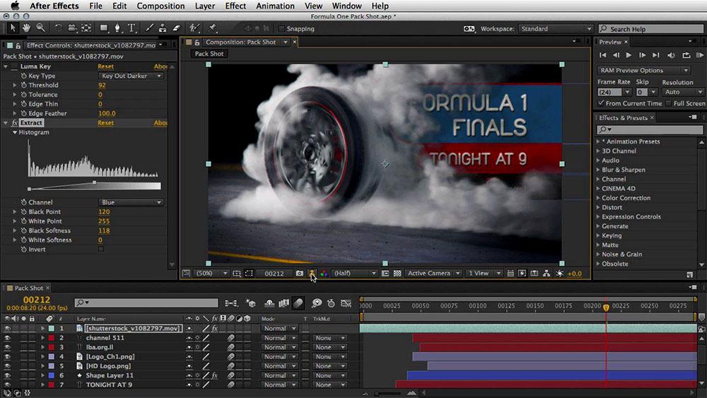 Fitur dan Kegunaan Adobe After Effects