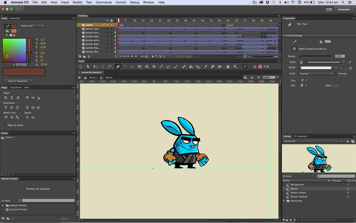 Fungsi dan Manfaat Adobe Animate CC