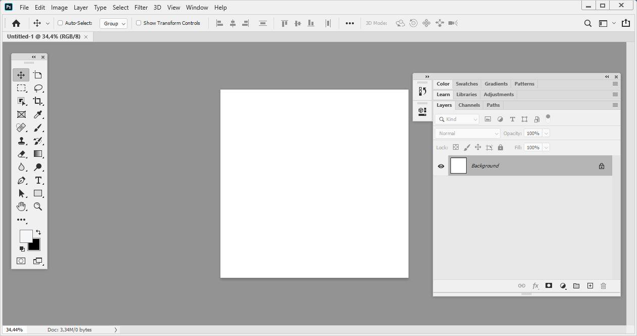 Tools dan Menu Adobe Photoshop