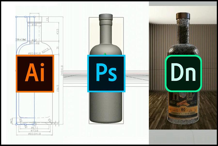 Fitur Utama Adobe Dimension