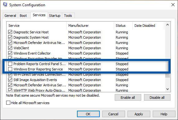 Matikan Services System Configuration