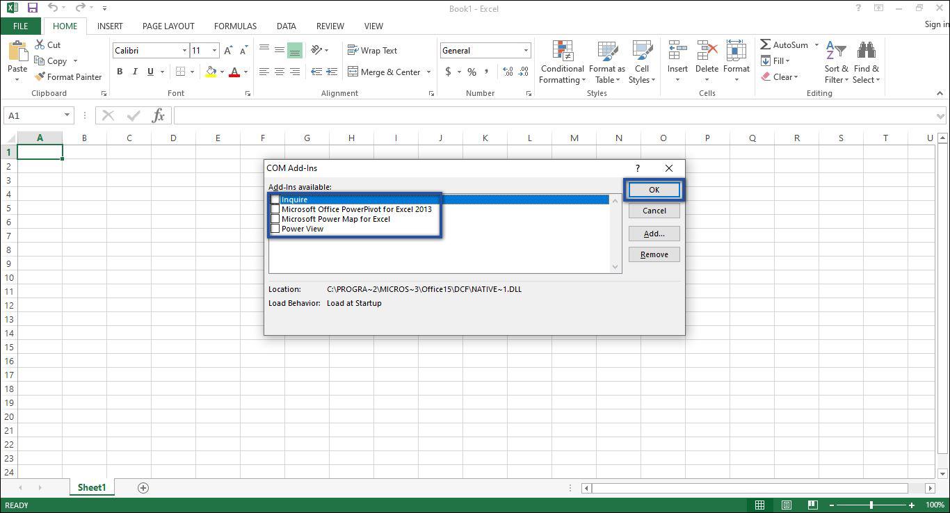 Add-ins Microsoft Excel