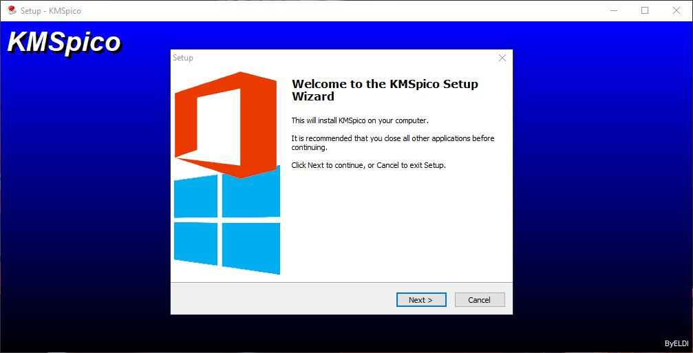 Install KMSPico Windows