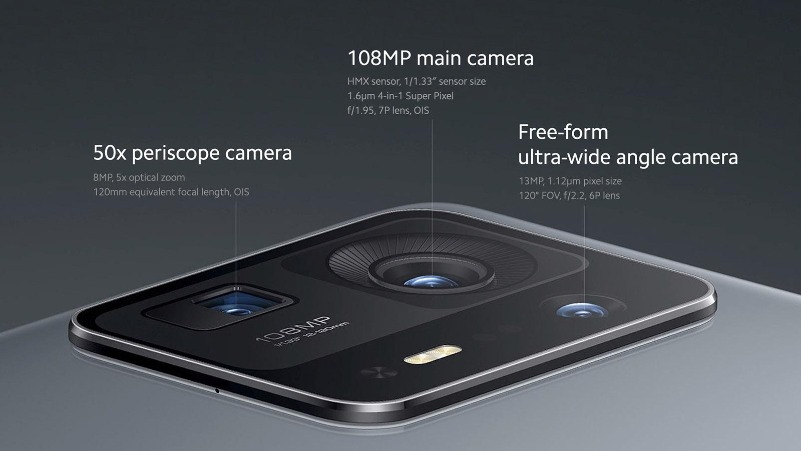 Kamera belakang Xiaomi Mi Mix 4