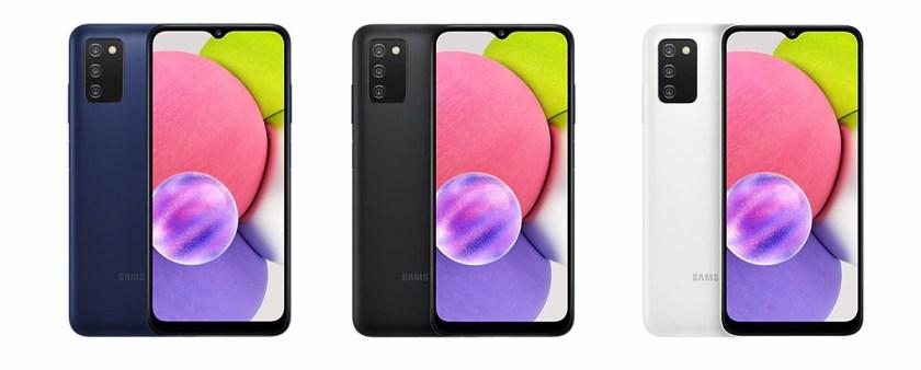 Pilihan warna Samsung Galaxy A03S