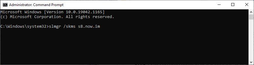 Menghubungkan KMS Server