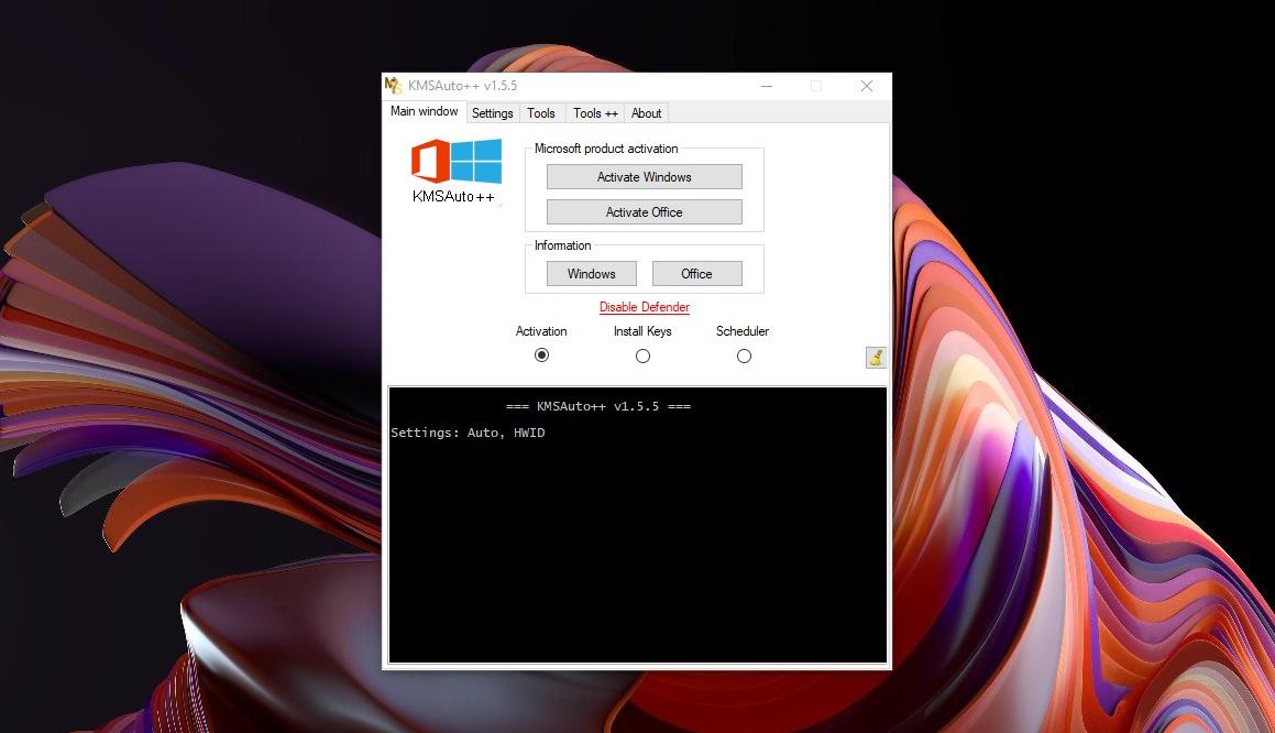 KMSAuto++ Windows 8
