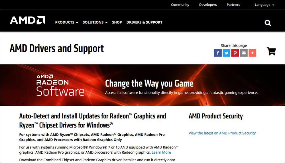 Download Driver VGA AMD