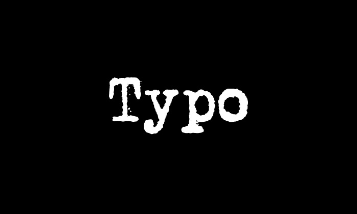 Mengenal apa itu Typo