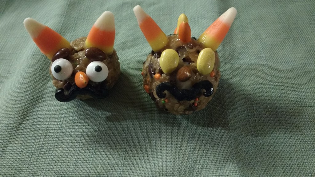 Delicious edible monsters