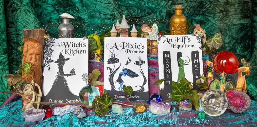The entire Enchanted Kitchen series: A Witch's Kitchen, A Pixie's Promise, and An Elf's Equations