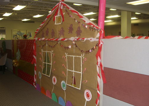 Gingerbread Cubicle