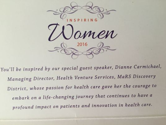 Inspiring Women invitation 2016
