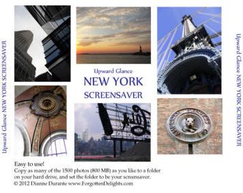 Upward Glance New York screensaver