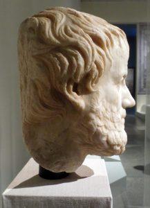 Aristotle, original 4th c. BC, Roman copy 1st c. AD. Vienna, Kunsthistorisches Museum. Photo: Dianne L. Durante