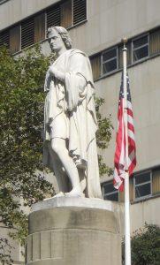 Emma Stebbins, Christopher Columbus, ca. 1867. Photo copyright (c) Dianne L. Durante