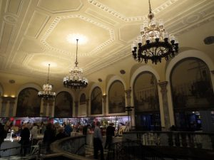 Former banking hall at 48 Wall Street. Photo copyright (c) 2016 Dianne L. Durante