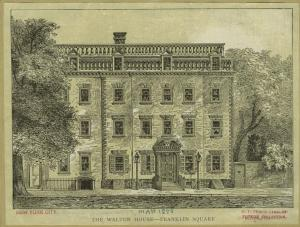 Walton House. Image: NYPL Digital Collections.