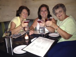 """I don't always have a drink in hand, but my mother, sister, and I celebrated an excellent meal together at an adventure in Boston. The drink concoction was called a """"Hot Tub""""and it was maniacally good."""