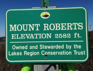 Mount Roberts is located at the Castle in the Clouds Conservation Area, once the mountain estate of benevolent capitalist Thomas G. Plant.