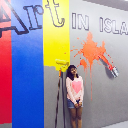 Art In Island is an interactive museum, which allows you to play and literally have fun while roaming around the gallery.