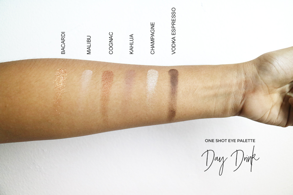 CHICA Y CHICO ONE SHOT EYE PALETTE DAY DRINK