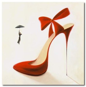 "from the ""High Heel Obsession"" Collection by inna panasenko"
