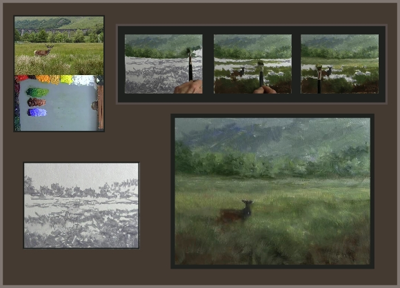 composing paintings from cloudy subjects